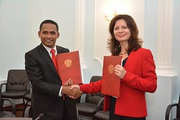 В КИУ подписано соглашение о двустороннем сотрудничестве с делегацией из Индонезии