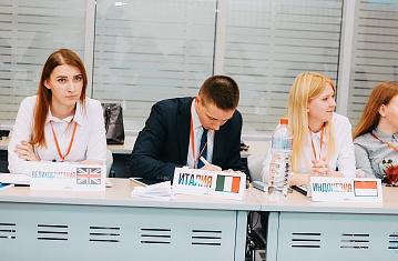 Студенты юридического факультета КИУ – участники VI Международной Казанской Модели ООН